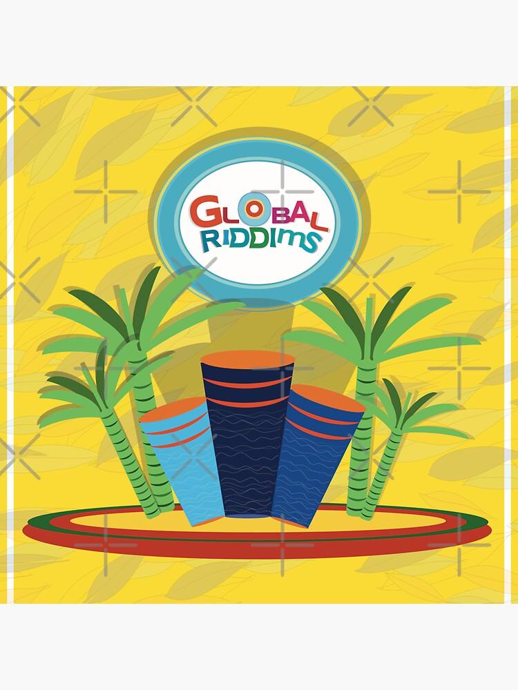 Golbal Riddims - Compilation Cover Art (4) by aremaarega