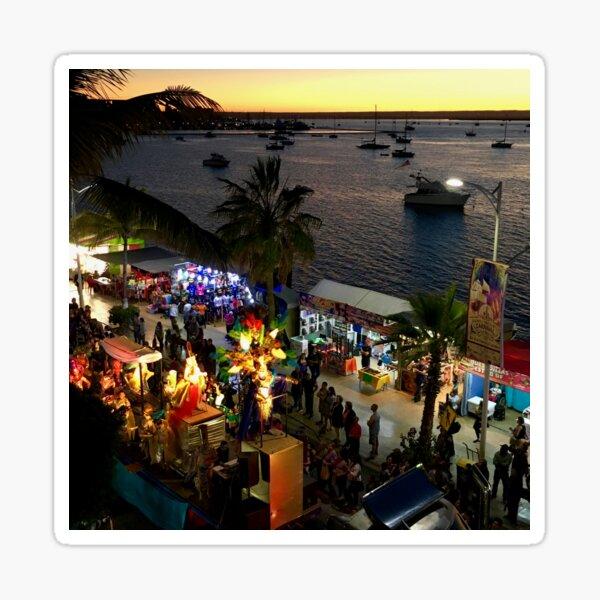 La Paz Carnaval Sunset Parade Sticker