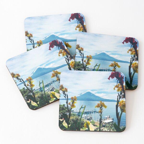 Lake Atitlan Guatemala  Coasters (Set of 4)