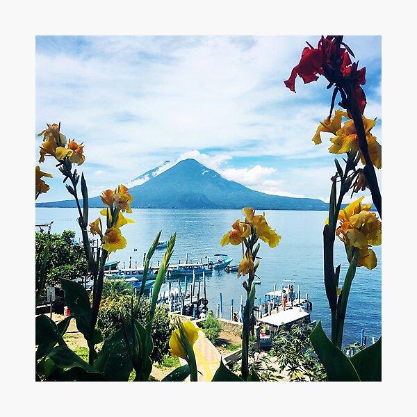 Lake Atitlan Guatemala  Photographic Print