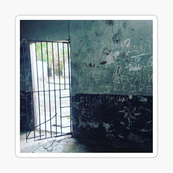 Isla San Lucas Prison Cell Sticker