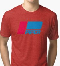 PIPER AIRCRAFT _ RETRO Tri-blend T-Shirt
