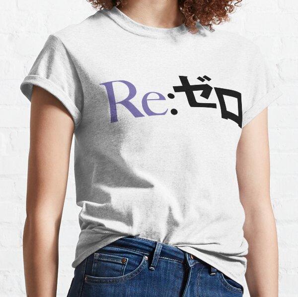 Re:Zero kara Hajimeru Isekai Seikatsu - logo (Purple) Classic T-Shirt