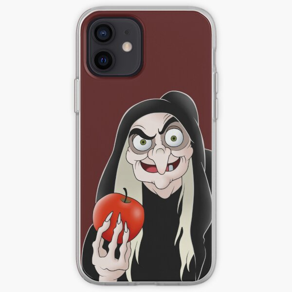 Evil queen witch  iPhone Soft Case