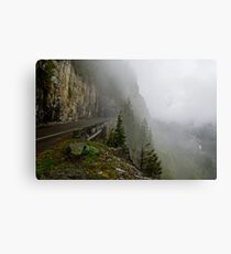 Road into the Clouds Metal Print