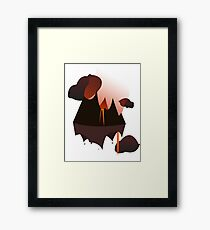 Mordor in the Sky Framed Print