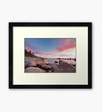 Tropics in the Mountains Framed Print