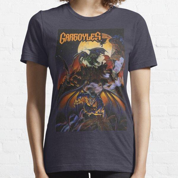 Gargoyles Rhapsody T-Shirt Queens Cover TV Series Fun Goliath Elisa Maza David