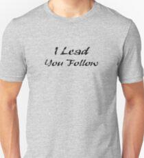 Dance - I Lead You Follow - T-Shirt & Top T-Shirt
