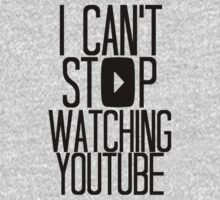I Can't Stop Watching YouTube | Unisex T-Shirt