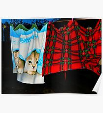 Cats Blankets Poster