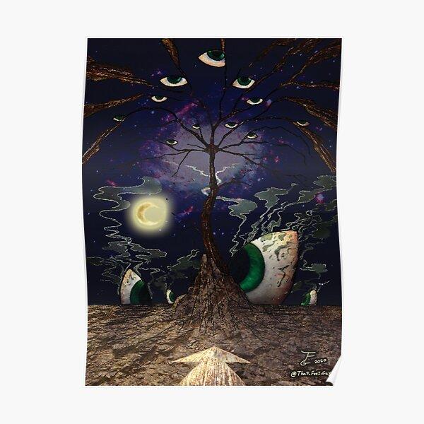 Liber Sigillum - The Tree of Gnosis Poster