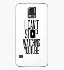 I Can't Stop Watching YouTube Case/Skin for Samsung Galaxy