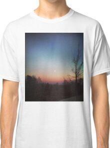 Winter Sunset Classic T-Shirt