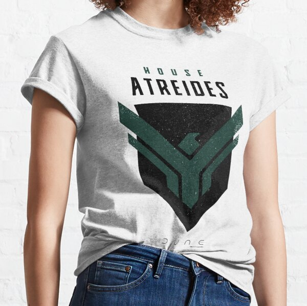Dune House Atreides Distressed Badge Classic T-Shirt