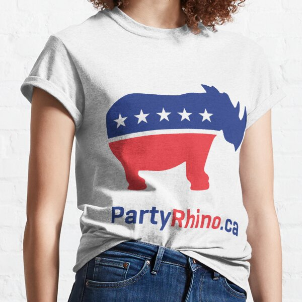 Rhino Party Logo 2019 Classic T-Shirt