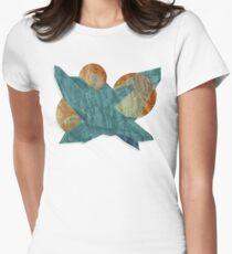 The Secret Alien Project! Tailliertes T-Shirt für Frauen