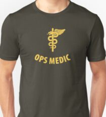 Ops Medic Shirt (Yellow) T-Shirt