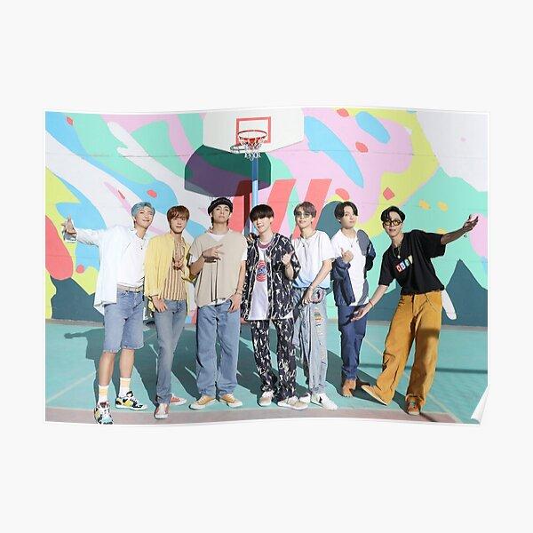 BTS Dynamite - Photo de groupe -OT7 - KPOP Poster Poster