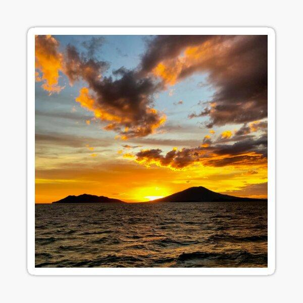 Sunset... Somewhere Sticker
