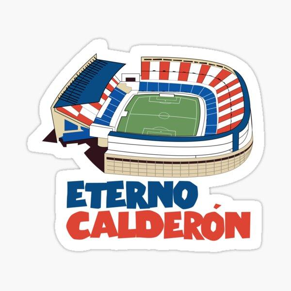Eterno Calderón - Atlético de Madrid Pegatina