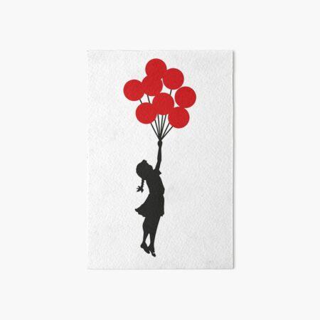 Banksy Girl mit roten Luftballons an der israelisch-palästinensischen Mauer, palästinensische Kunstwerke, Drucke, Poster, Taschen, Männer, Frauen, Kinder Galeriedruck
