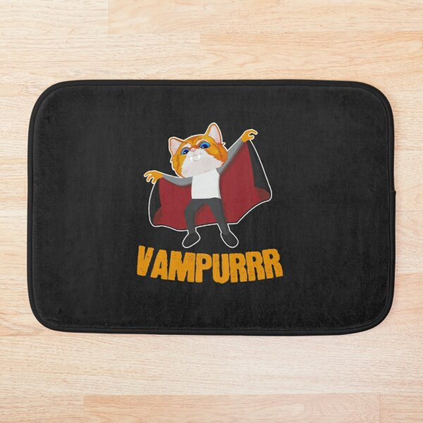 Vampurrr The Vampire Bath Mat