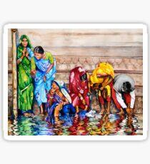 Along the Ganges Sticker