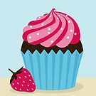Strawberry Cupcake by Shannon Kennedy