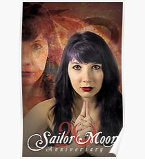 20th Anniversary Sailor Mars Live Action Poster Poster