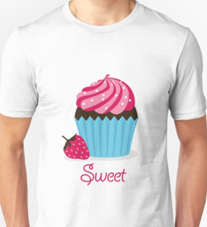 Strawberry Cupcake T-Shirt