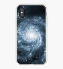 Whirlpool Galaxy [Dark Blue] | Fresh Universe iPhone Case