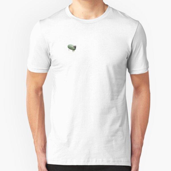 Pug Melon Slim Fit T-Shirt