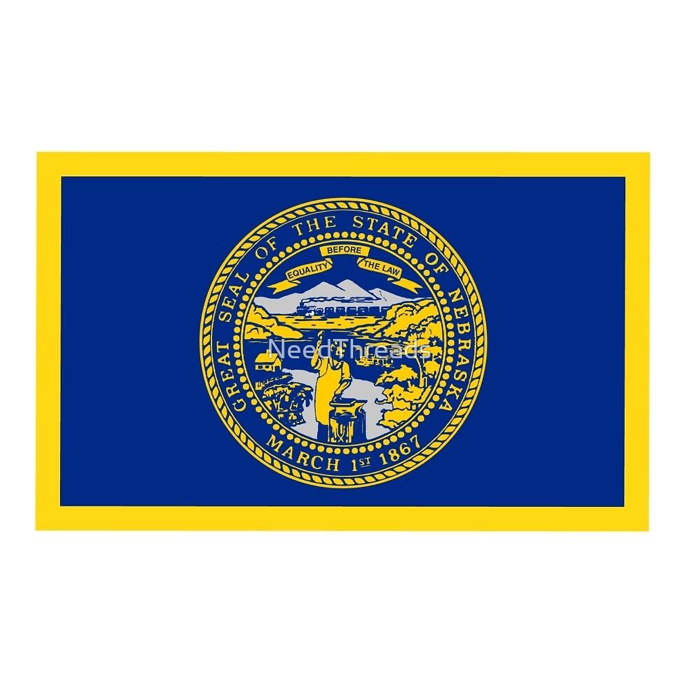 Nebraska Flag by NeedThreads