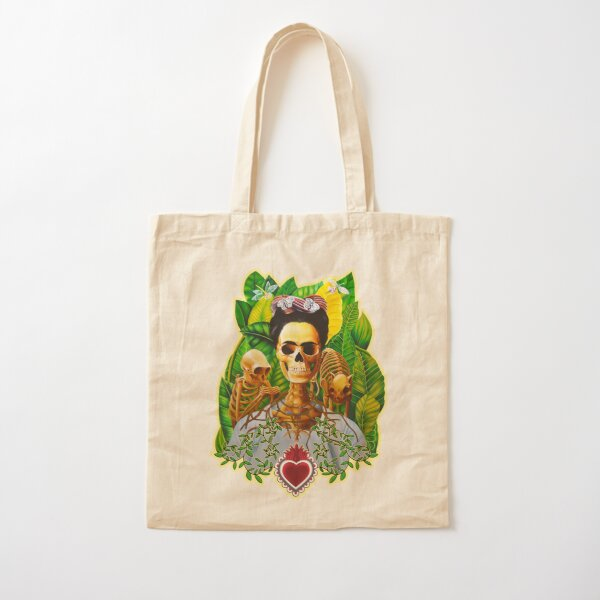 Frida vive Bolsa de algodón