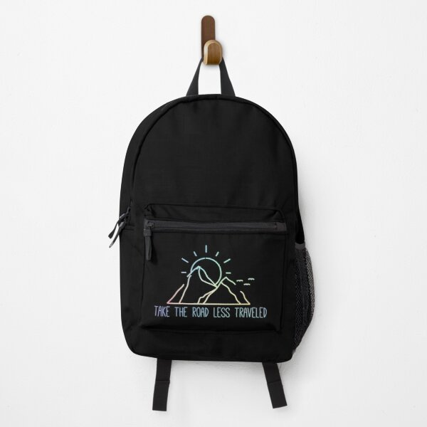 Take The Road Less Traveled Backpack