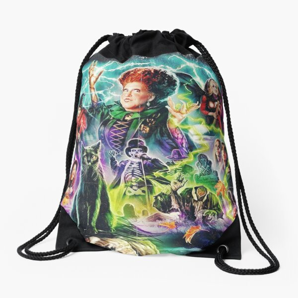 Sanderson Sisters Hocus Pocus Halloween Gift Drawstring Bag
