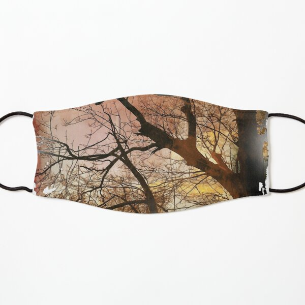 Autumn Fire Kids Mask