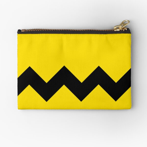 Charlie Brown double zigzag Halloween costumes  Zipper Pouch