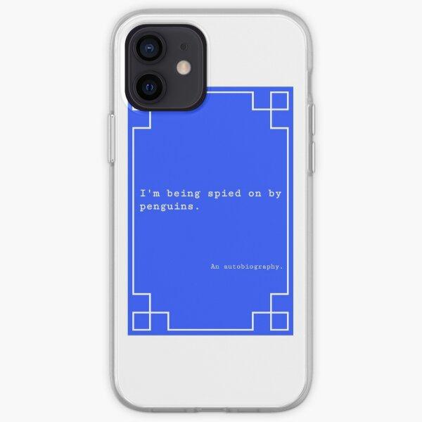 Penguin Spy Book Cover iPhone Soft Case