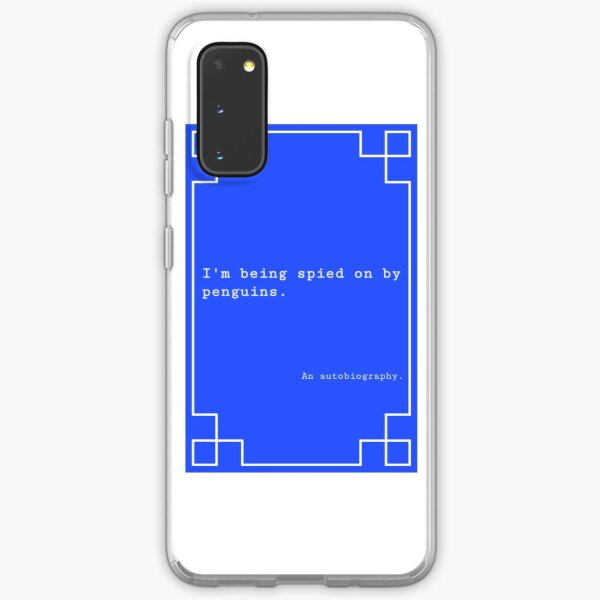 Penguin Spy Book Cover Samsung Galaxy Soft Case