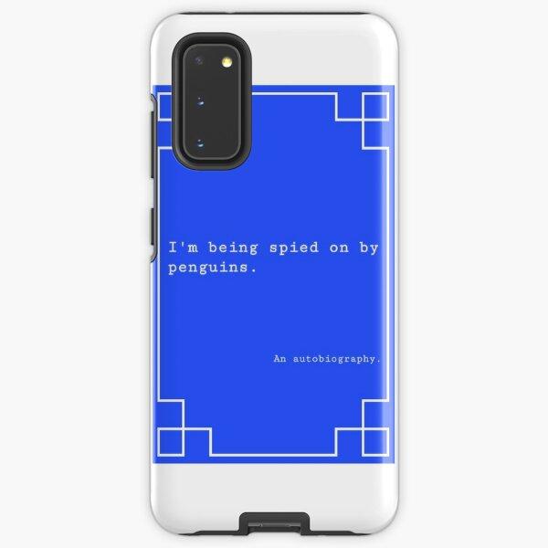 Penguin Spy Book Cover Samsung Galaxy Tough Case