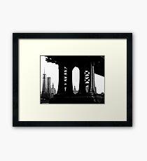 Under the Manhattan Framed Print