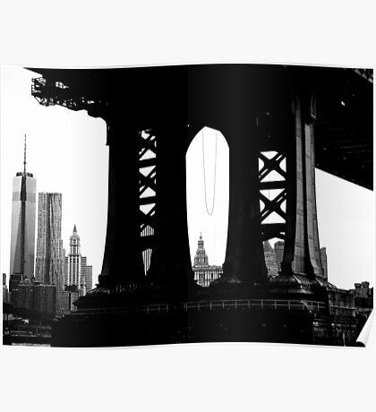Under the Manhattan Poster