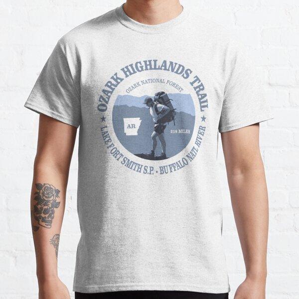 Ozark Highlands Trail (BG) Classic T-Shirt