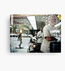 The Barbers of New York Canvas Print