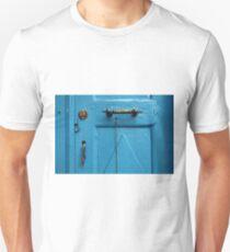 blue door & door knob T-Shirt