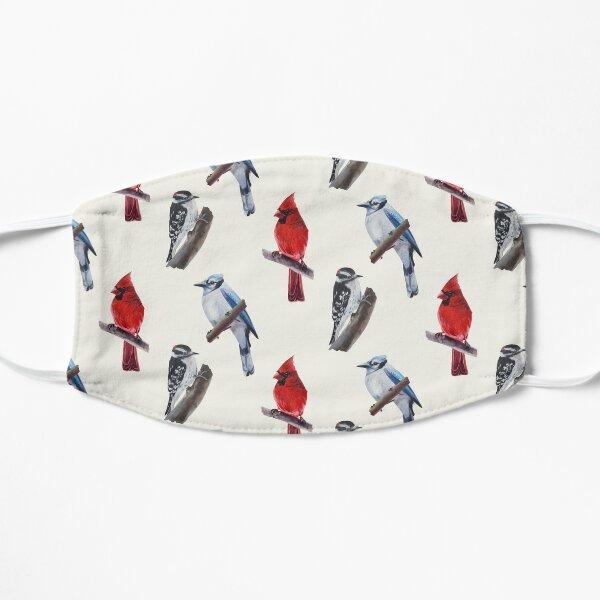 Wild Birds Sticker Set Flat Mask