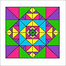 ADVANCED TRIANGLE ART by RainbowArt