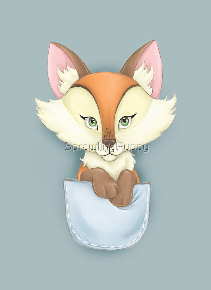 Pocket Fox by Katie Corrigan